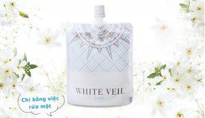 sưa rua mat White Veil