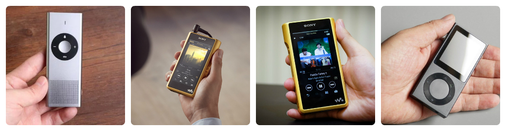 máy nghe nhạc có hay hơn điện thoại