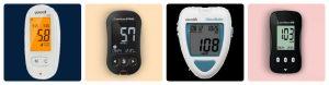 phân loại máy đo đường huyết