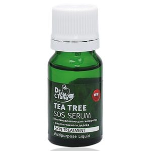 serum trị mụn tea tree series sos serum farmasi 10ml