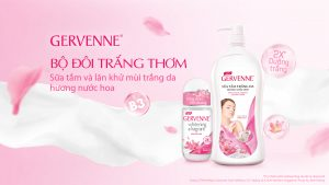 Sữa tắm hương nước hoa Gervenne