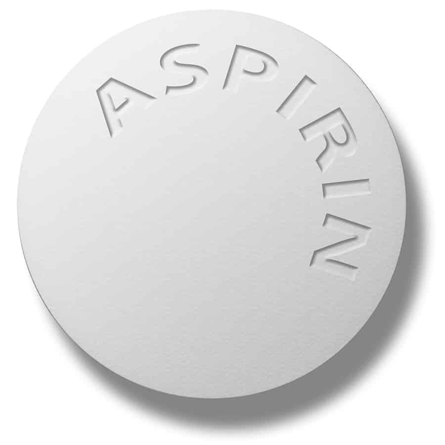 thuốc trắng da aspirin