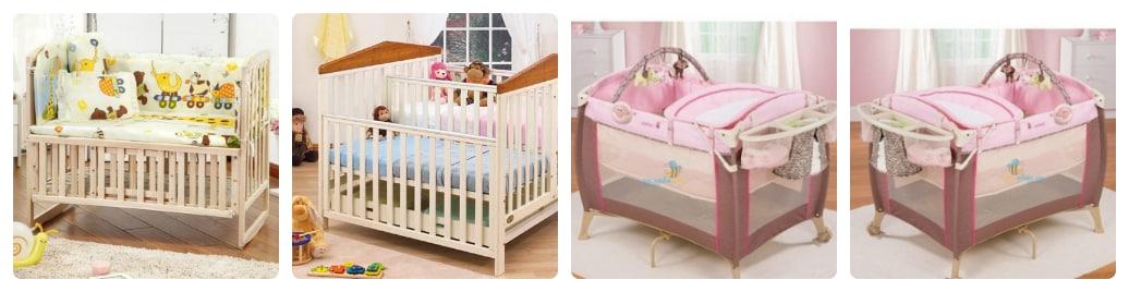 nên mua giường cũi hay nôi em bé tốt hơn