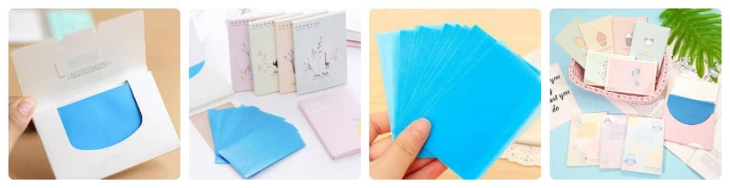có nên dùng giấy thấm dầu thường xuyên