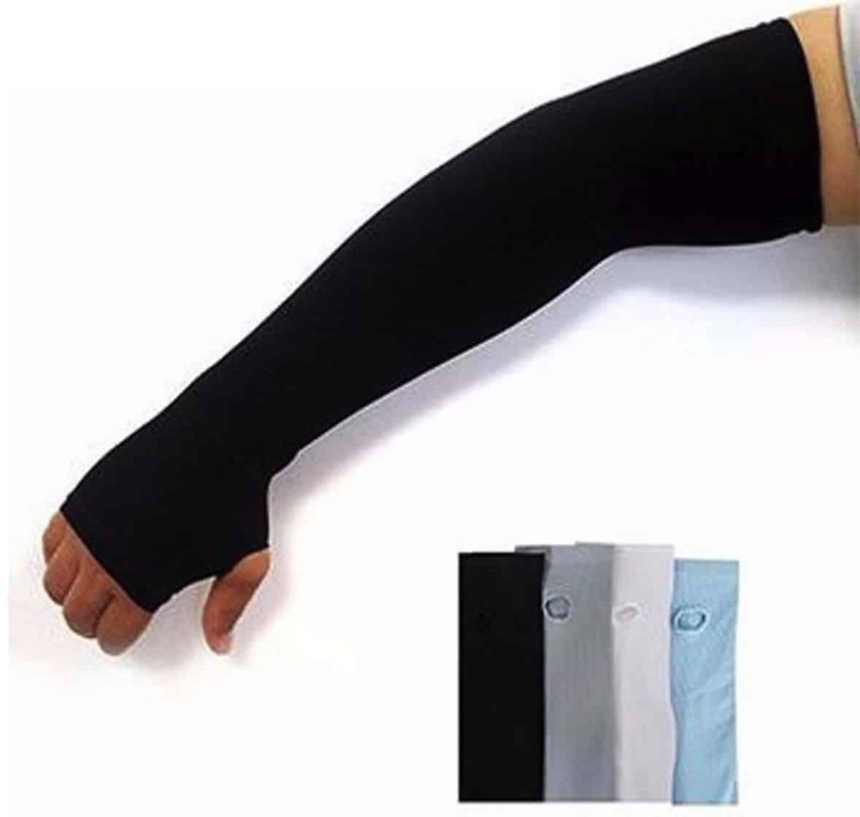 Găng tay chống nắng xỏ ngón thun Aqua-X