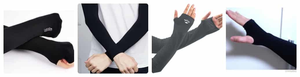 mua găng tay chống nắng màu gì bảo vệ da tốt