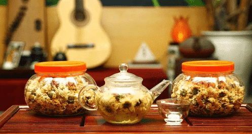 quy cách đóng gói trà hoa cúc
