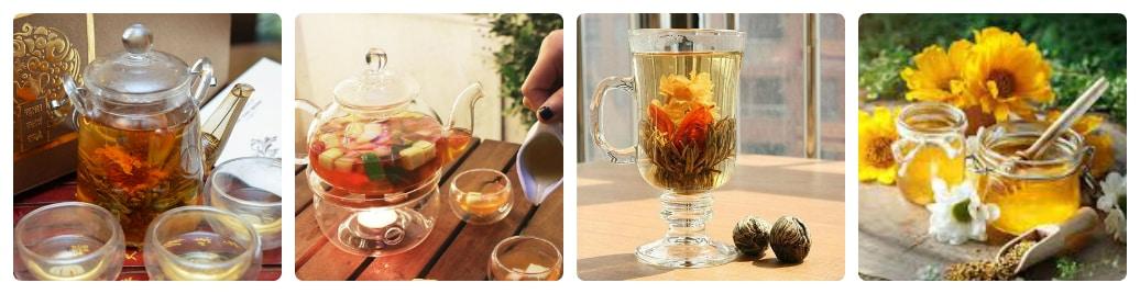 sử dụng trà hoa cúc có giảm cân không