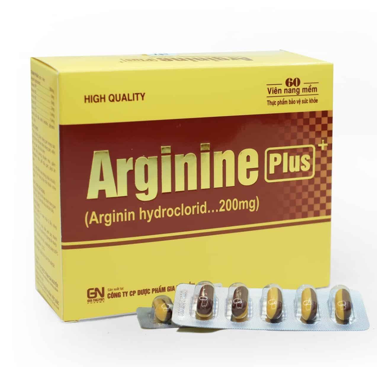 thuốc bổ gan arginin