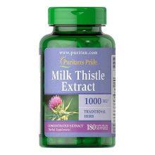 Thuốc bổ gan Milk Thistle Extract 1000Mg 180 viên