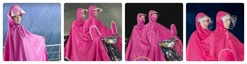 có nên mua sử dụng áo mưa 2 đầu không
