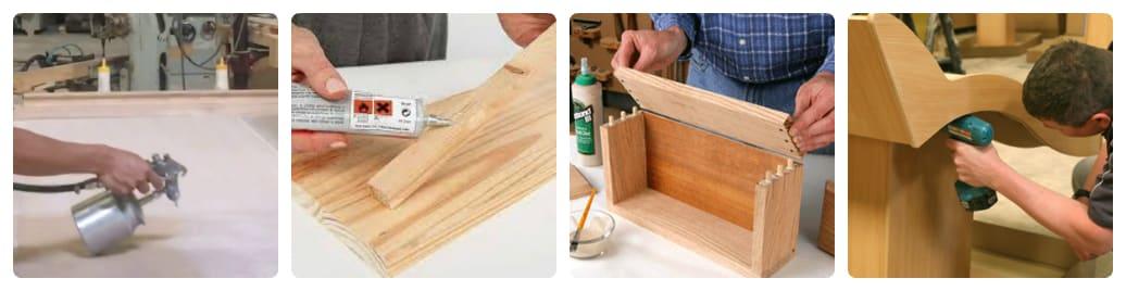 dùng keo dán gỗ công nghiệp có độc không