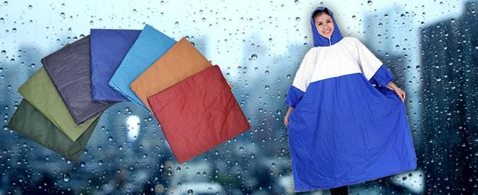 kiểm tra kích thước áo mưa