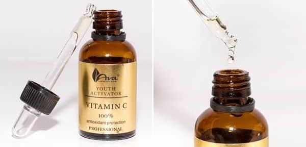 kiểm tra thành phần serum vitamin c