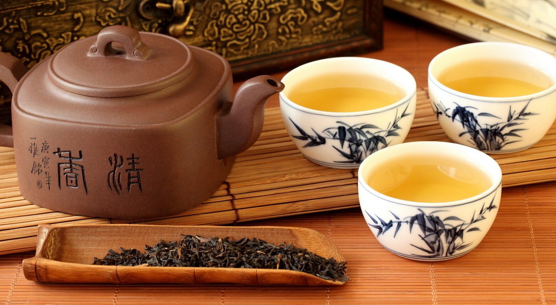 kiểm tra thành phần trà