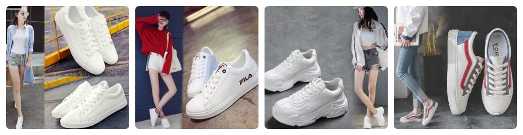 nên mua giày sneaker màu gì phối đồ cho dễ