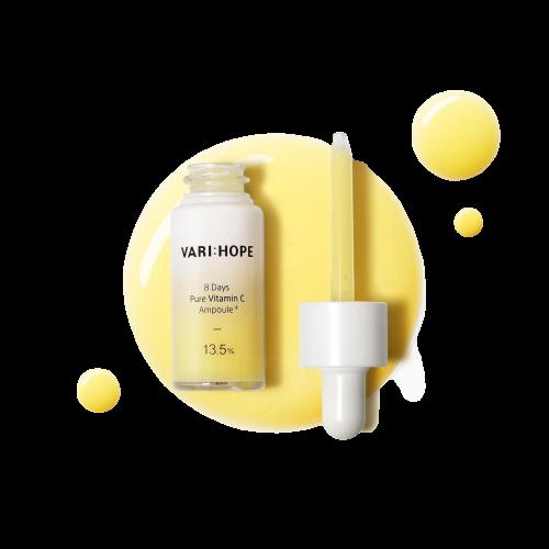 Serum Vitamin C Varihope 8 Days Pure Ampoule Plus