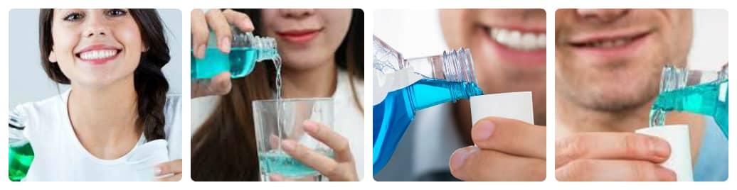 nên dùng nước súc miệng trước hay sau ăn