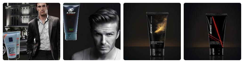 Nên chọn gel vuốt tóc X men hay Romano