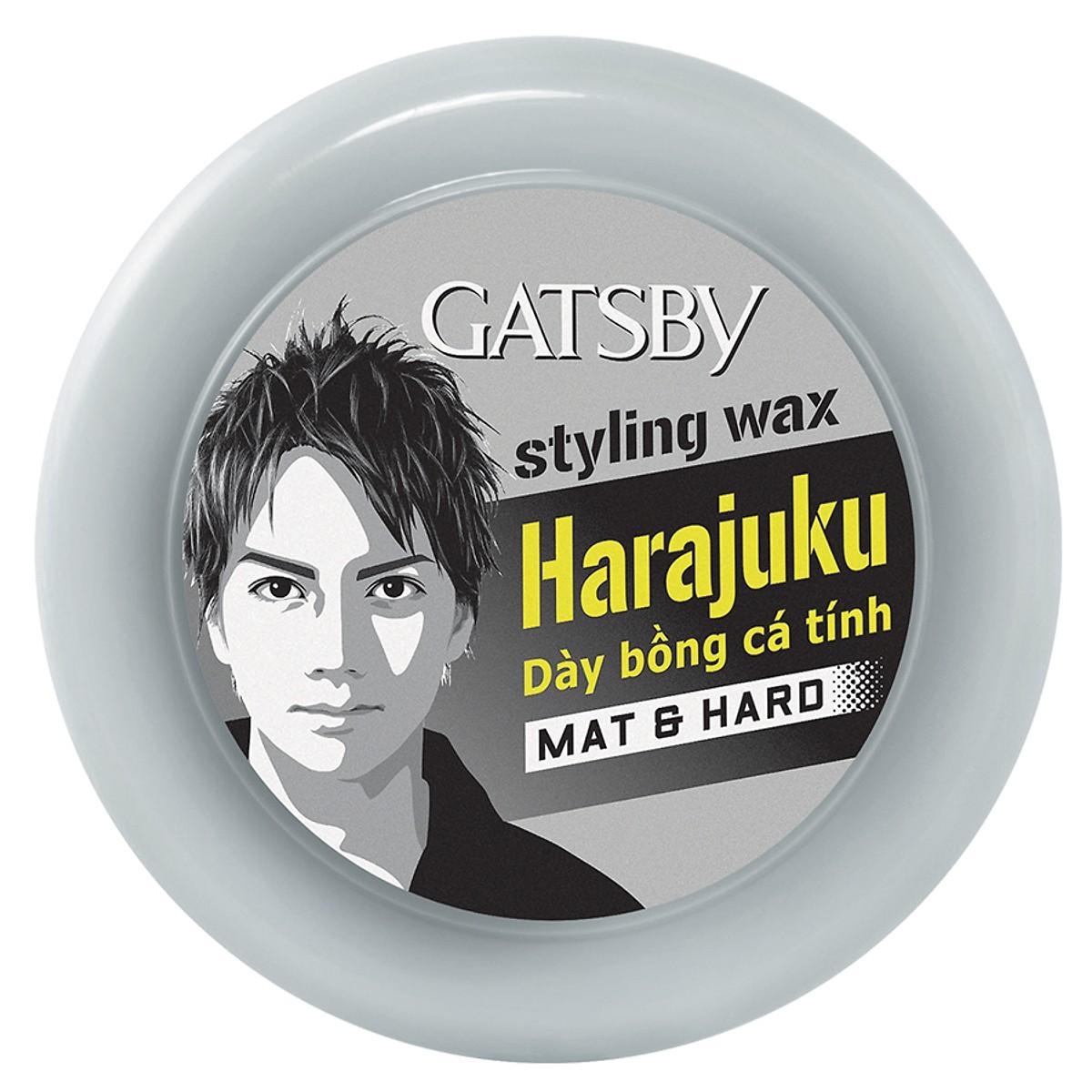 Sáp vuốt tóc tạo kiểu tóc Gatsby M&H Đen 75g