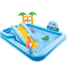 Bể bơi cho bé cầu trượt Intex 57161