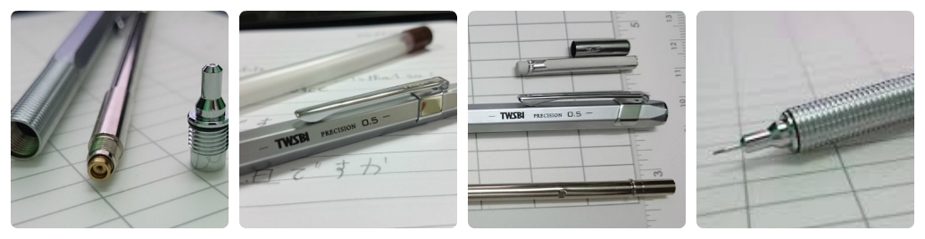 Bút chì kim hoạt động như thế nào