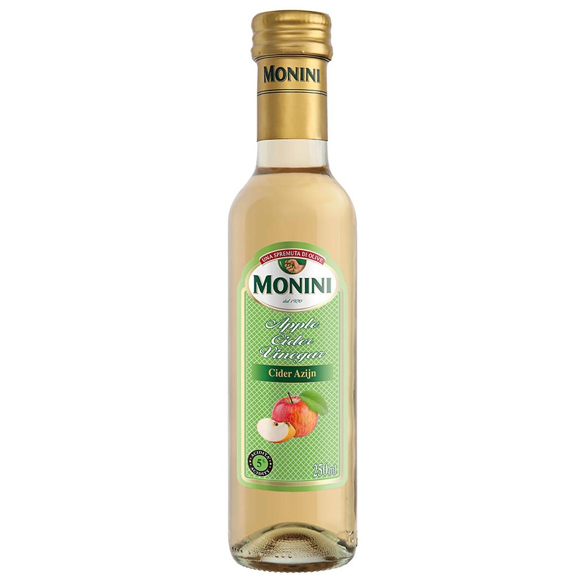 Giấm táo chính hãng từ Ý Monini 250ml