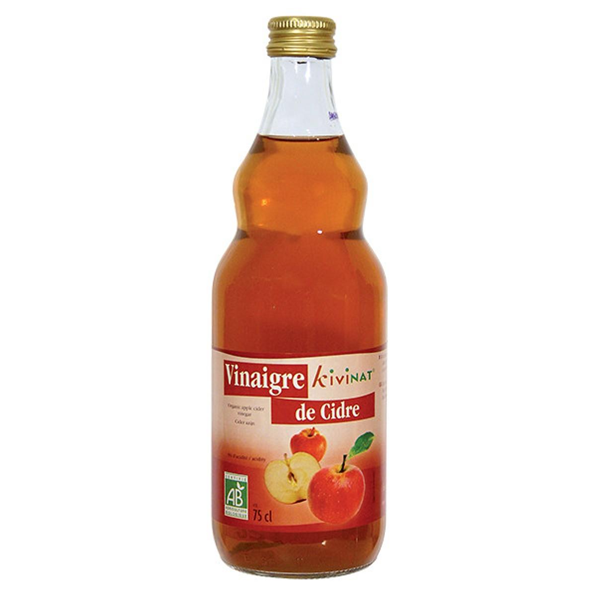 Giấm táo hữu cơ Kivinat Markal 750ml