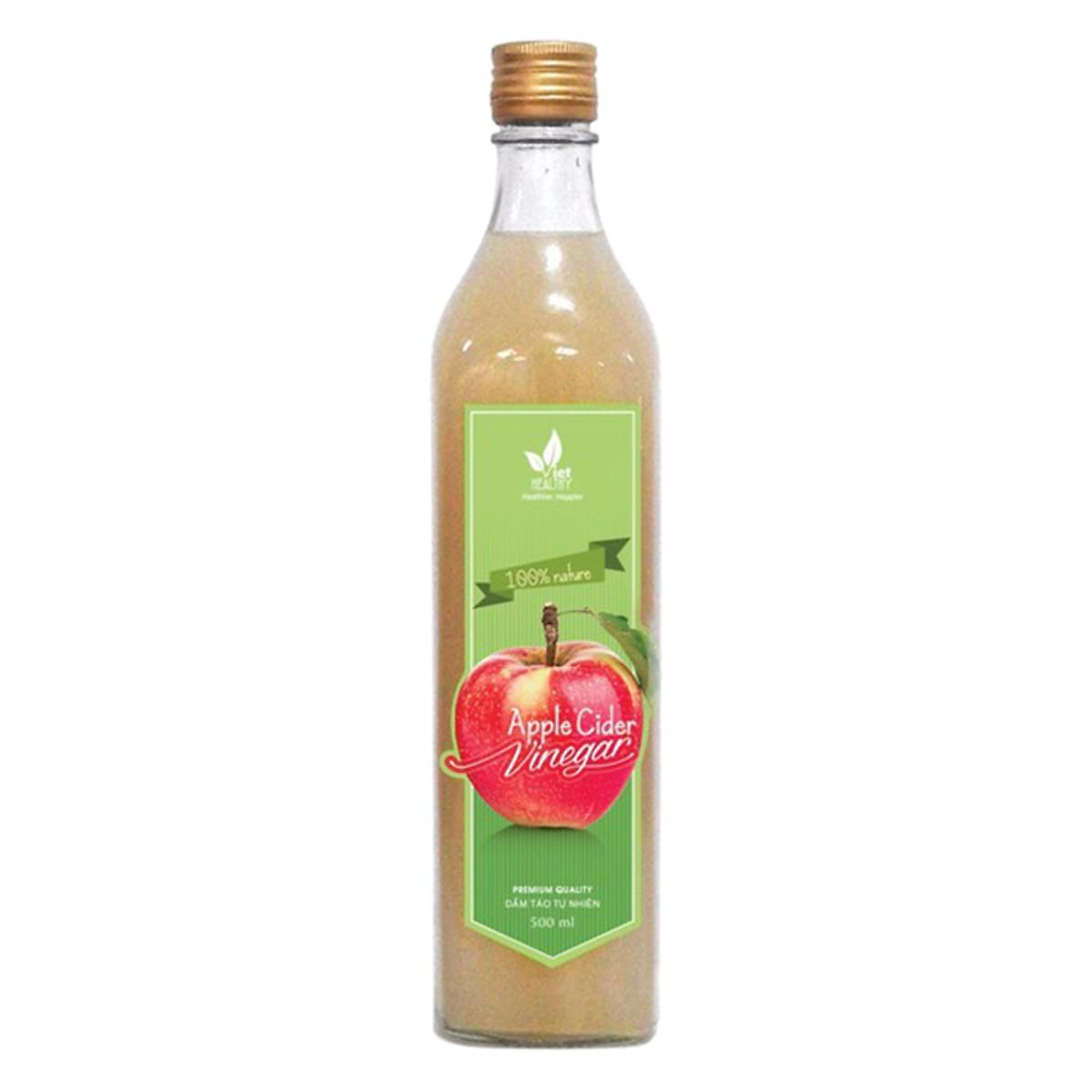 Giấm táo tinh khiết Viet Healthy 500ml