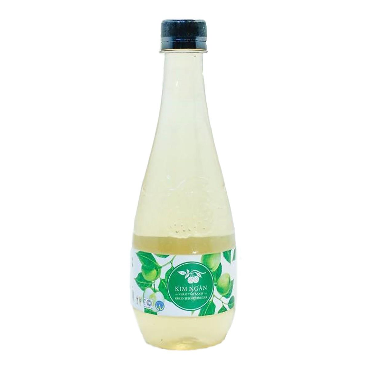 Giấm táo xanh Kim Ngân chai 450ml