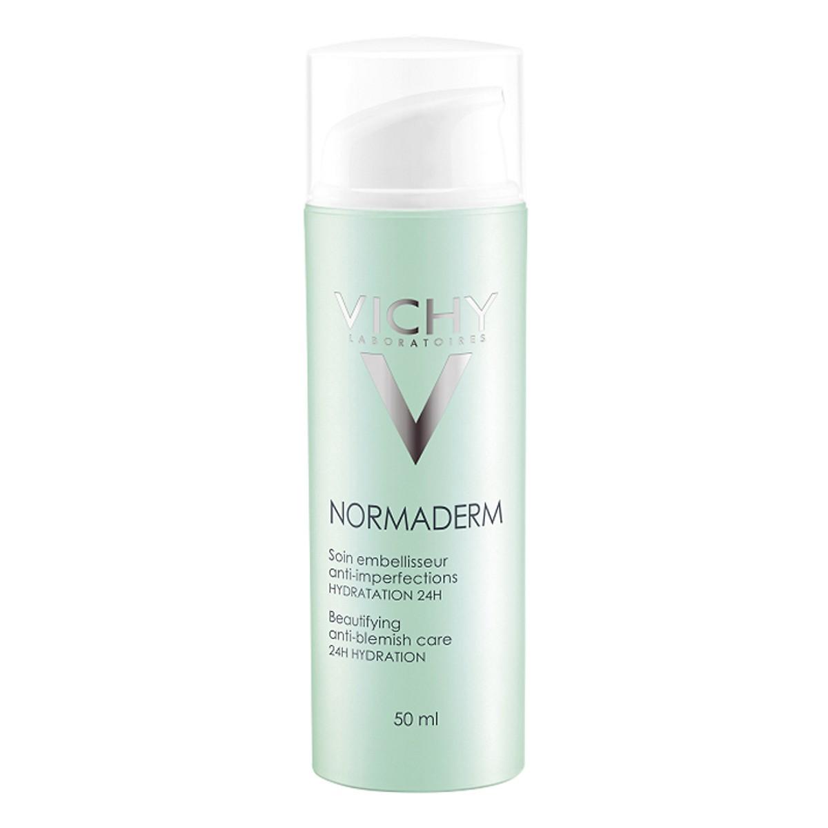 Kem dưỡng ẩm cho da dầu Normaderm TRI-ACTIV Vichy 50ml