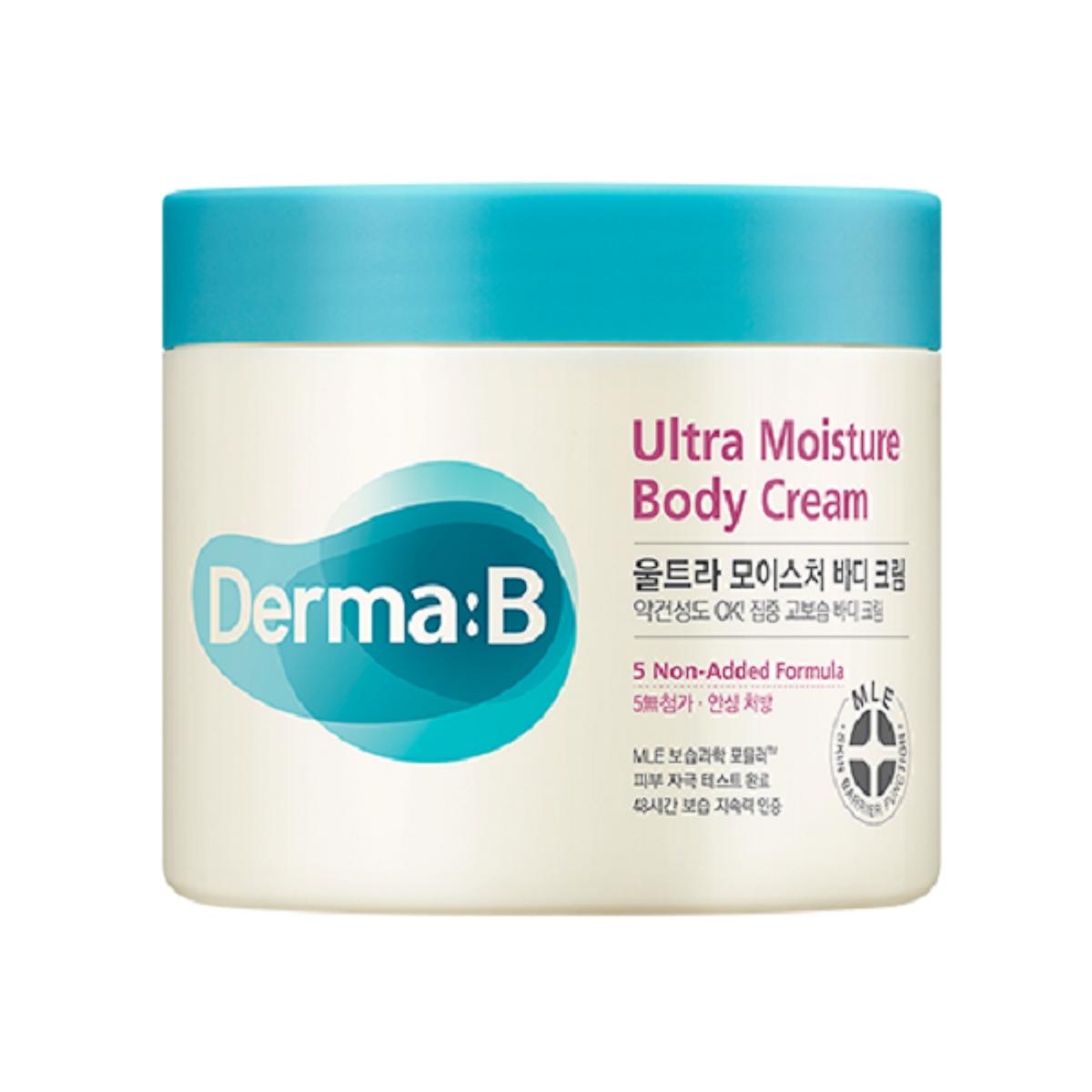 Kem dưỡng ẩm toàn thân Derma:B Ultra Moisture Body 430ml