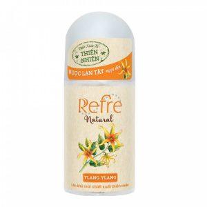 lăn khử mùi thiên nhiên refre natural 40ml