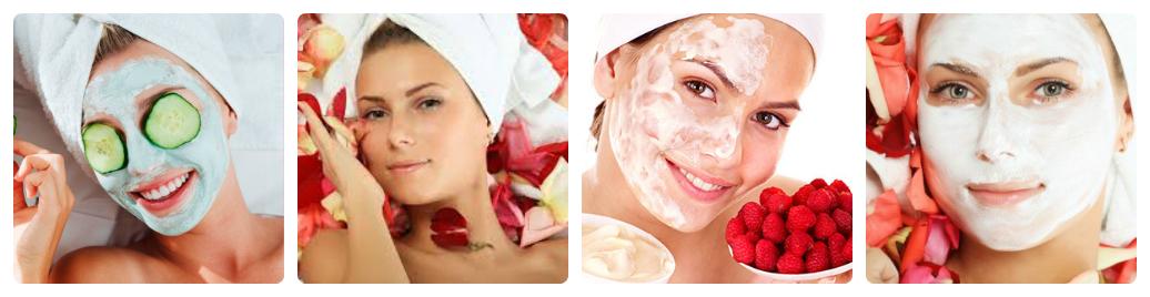 một số mặt nạ thải độc cho da từ thiên nhiên