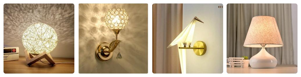 nên mua đèn ngủ treo tường hay để bàn