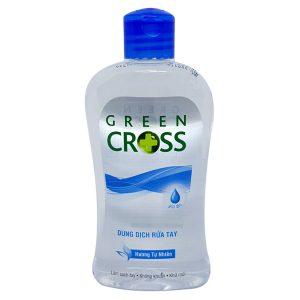 nước rửa tay green cross hương mát 250ml