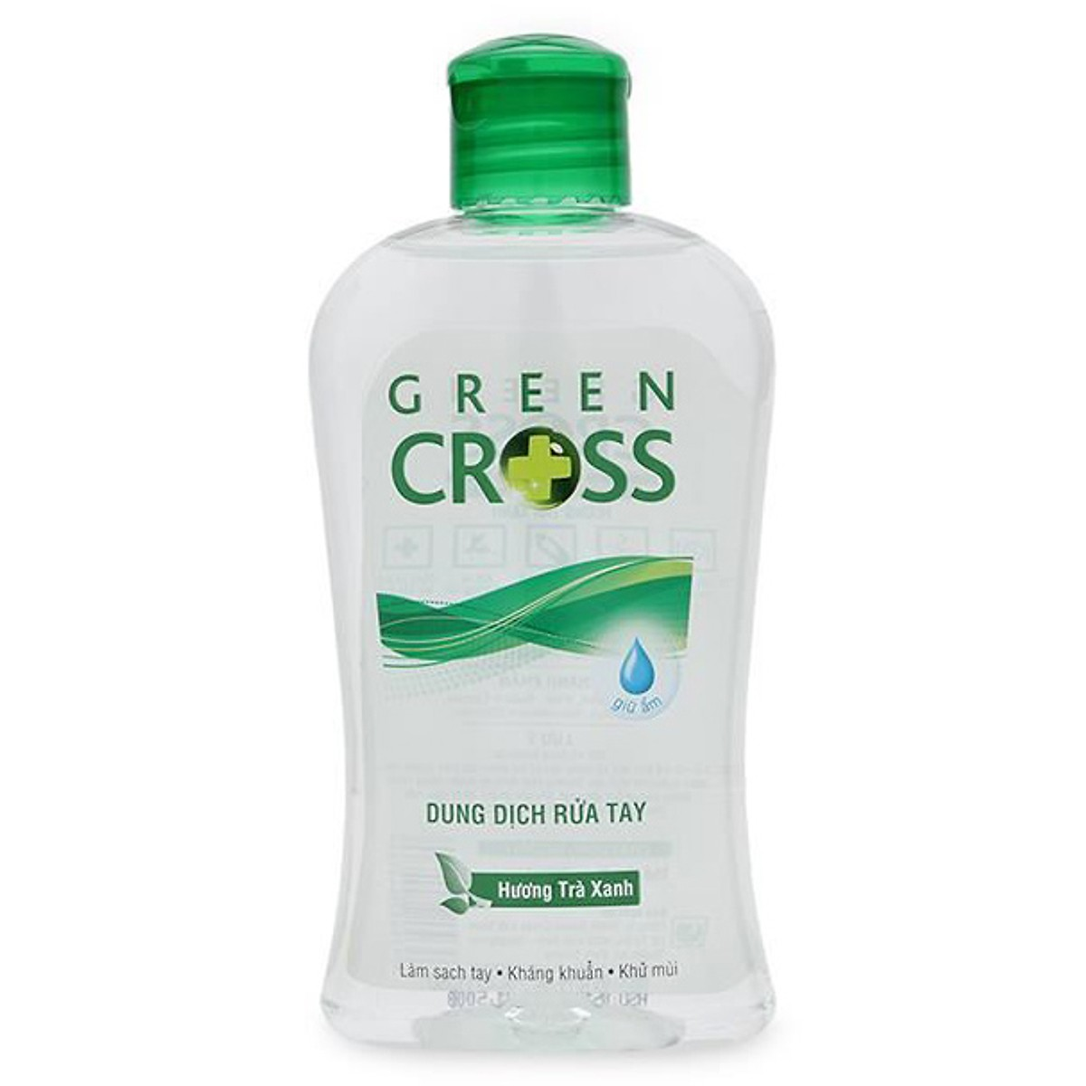 Nước rửa tay Green Cross hương trà xanh 250ml