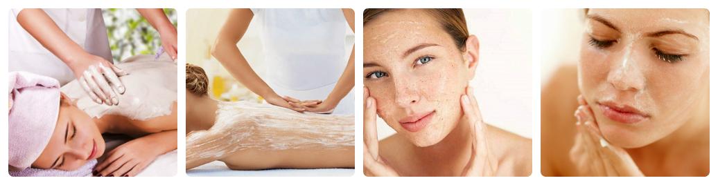 Sản phẩm tẩy da chết toàn thân sẽ khác so với sản phẩm tẩy da mặt.