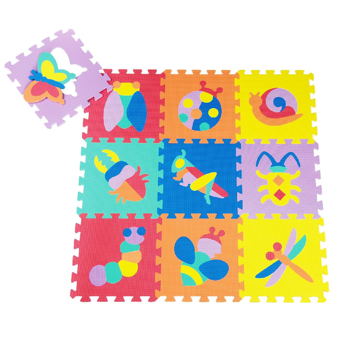 thảm chơi cho bé smile puzzle