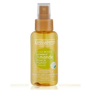tinh dầu massage huile amande evoluderm 100ml