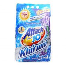 Bột giặt Attack khử mùi từ oải hương 3.8kg