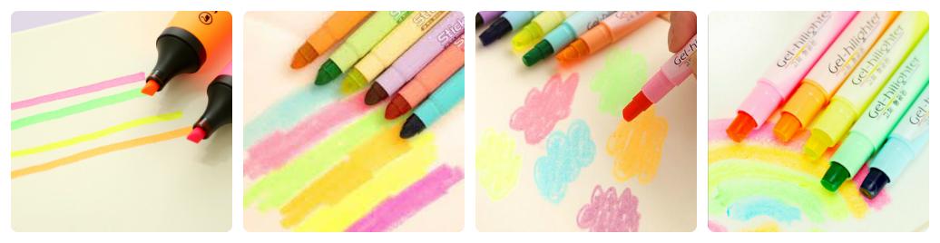 bút dạ quang có những tác dụng gì