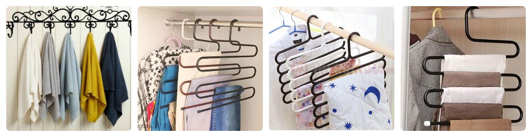 công dụng của móc treo quần áo