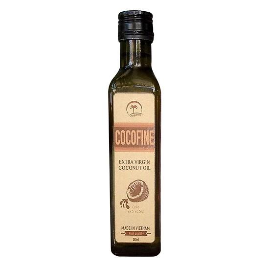 dầu dừa dưỡng da cocofine