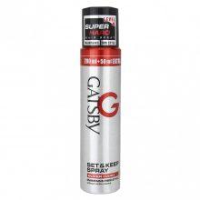 Gôm xịt tóc Gatsby Set & Keep Spray Super