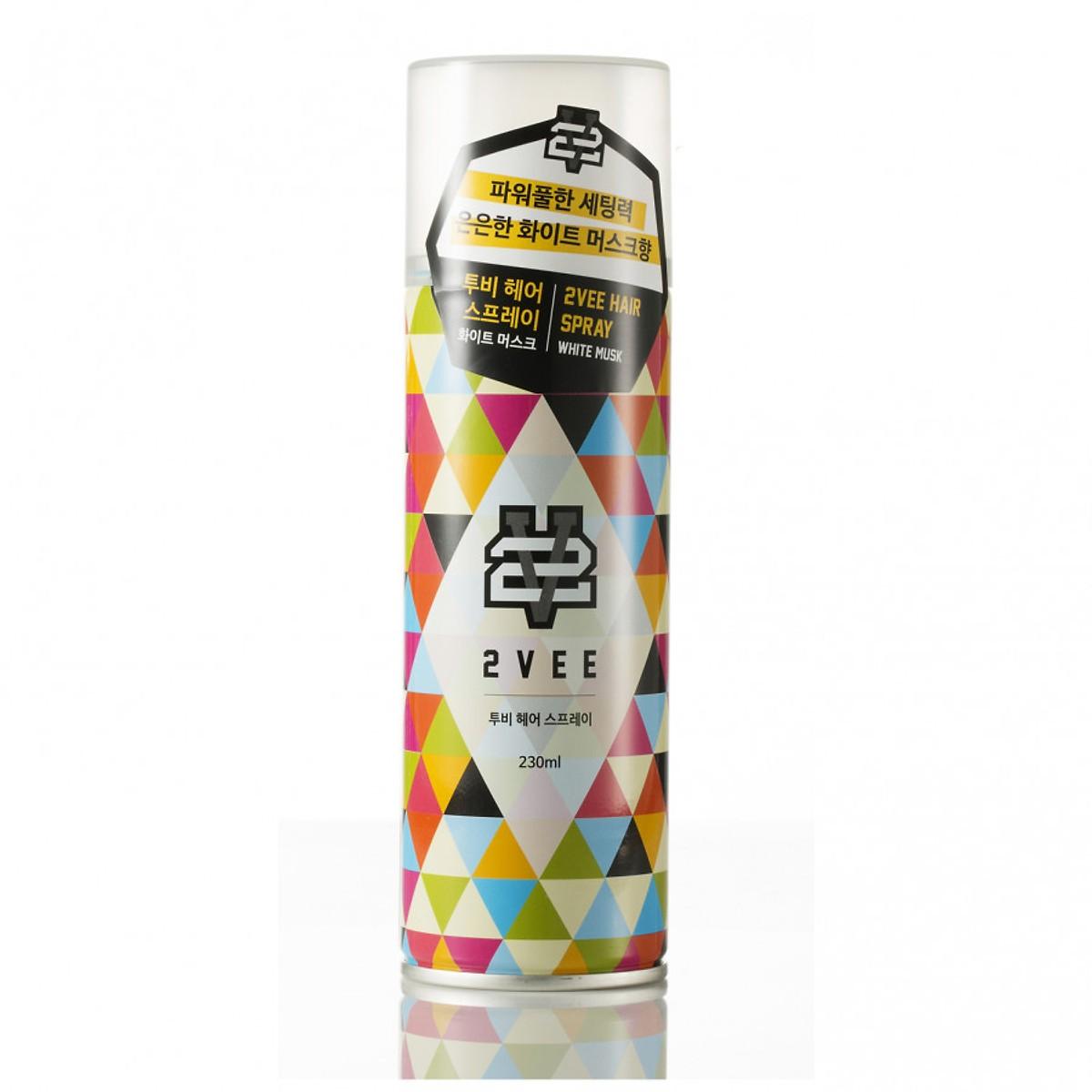 Gôm xịt tóc tạo kiểu giá rẻ 2VEE Spray 230ml