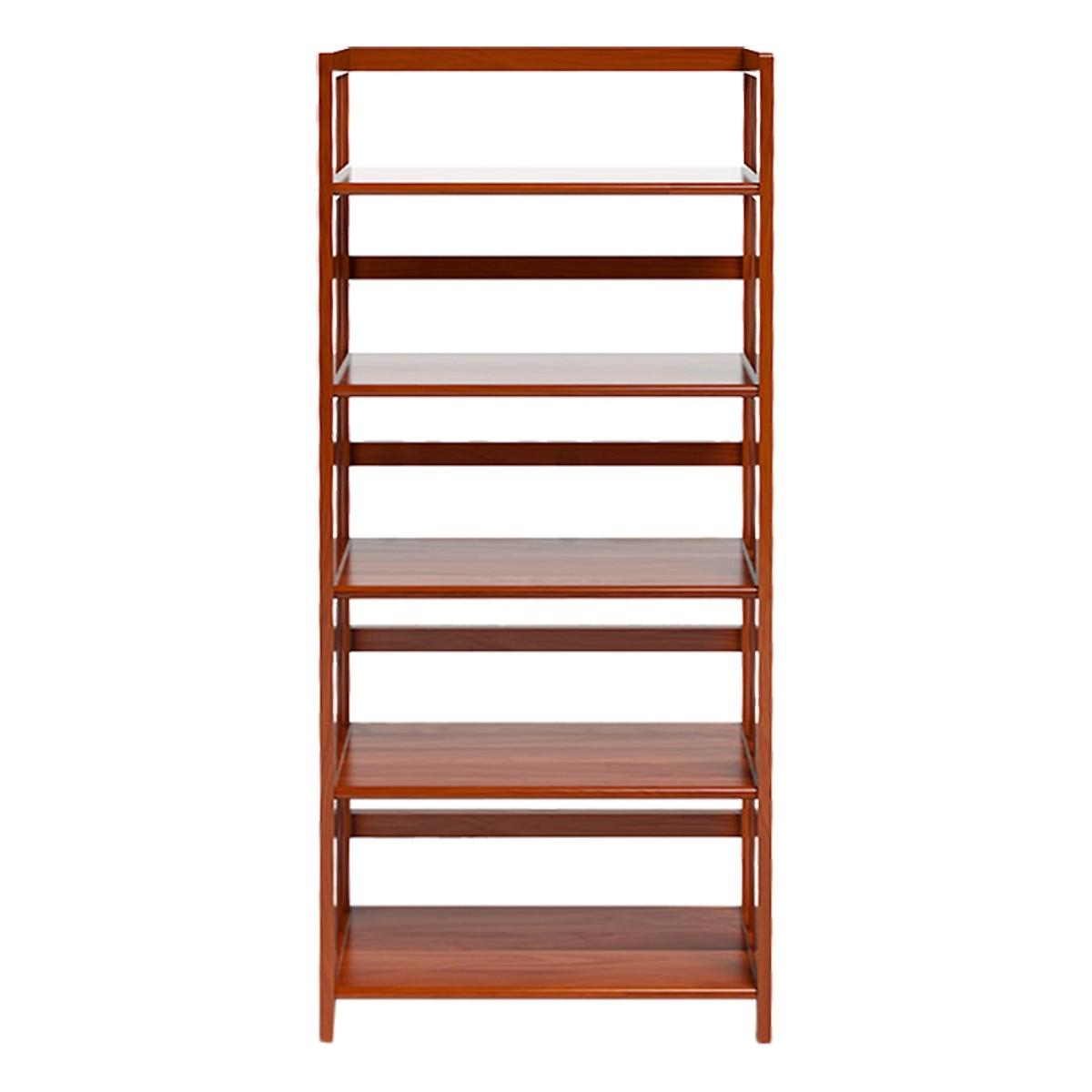 Kệ sách 5 tầng gỗ cao su Ibie KS563 63cm