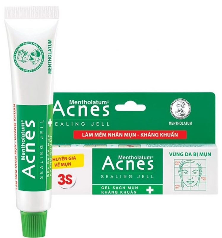 kem trị mụn ẩn acnes