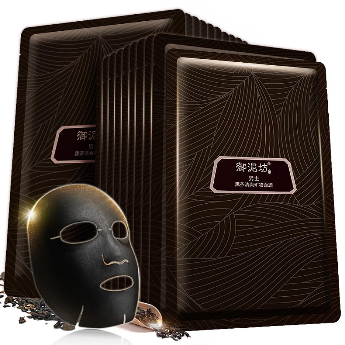 Mặt nạ cho nam trà đen Unifon 20 miếng