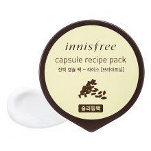 Mặt nạ ngủ sáng da Innisfree Capsule Recipe Pack 10ml